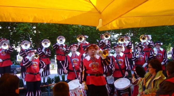 Auftritt beim Löwenplatzfest des FZ Krauchenwies