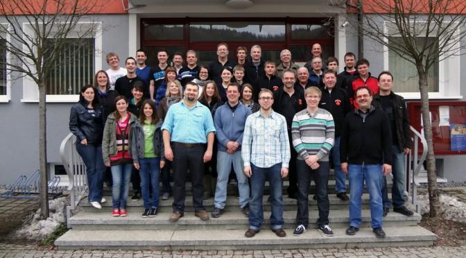 Lehrgang des Fanfarenzug Nusplingen am 03.03.2012
