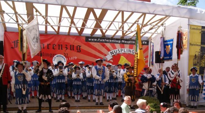 Rückblick Landesverbandstreffen der Spielmanns- und Fanfarenzüge in Baden-Württemberg e.V. verbunden mit dem 35-jährigen Jubiläum des Fanfarenzug Nusplingen