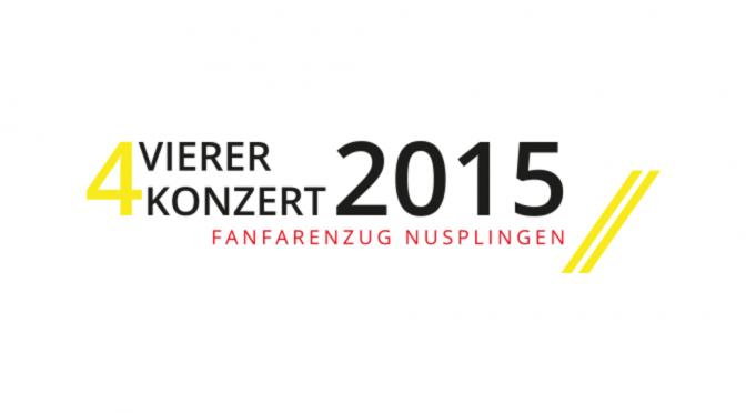 Vierer Konzert 2015
