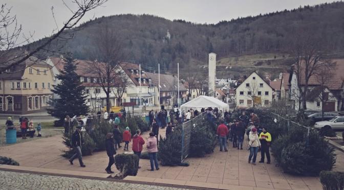 Christbaummarkt kommt sehr gut an