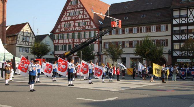 Nusplinger Fahnenschwinger räumen bei der Weltmeisterschaft ab