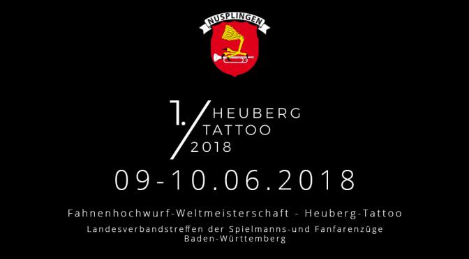 Das 1. Heuberg-Tattoo nimmt konkrete Konturen an